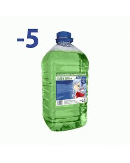 Незамерзающая жидкость Green Star -5C 4л