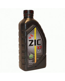 Масло моторное ZIC X7 Diesel 5W30 1л