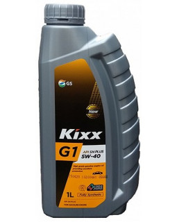 Масло моторное Kixx G1 SN (Plus) 5W40 синтетическое 1л