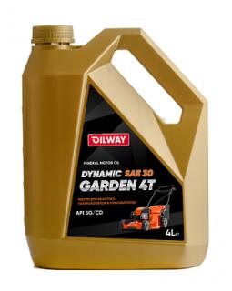 Oilway DYNAMIC GARDEN 4T SAE 30 мин 4л (4шт/уп)