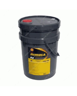 Масло моторное SHELL Rimula R6 M 10W40 синт. 20л