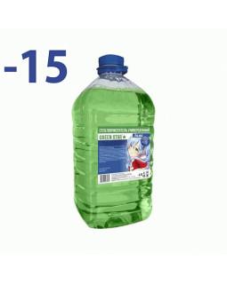 Незамерзающая жидкость Green Star -15C 4л
