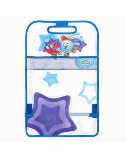 Накидка на спинку сиденья SM/KMT010 Krosh (мягкий прозрачный ПВХ) для защиты от ног ребенка