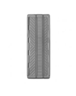 Коврик-ванночка для заднего ряда длинный 127*45 1 предмет Autoprofi Groove серый (TER-150l GY)