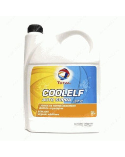 Антифриз Total Coolelf Auto Supra (-37) оранжевый 5л
