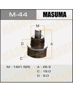 """Болт маслосливной Mazda """"Masuma"""" M_44 14*1,5 мм 30744* (с магнитом)"""
