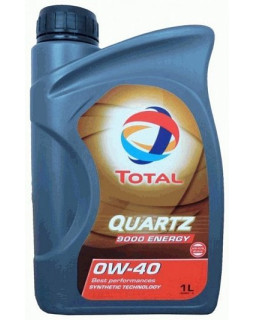Масло моторное Total Quartz 9000 Energy 0W40 синт. 1л