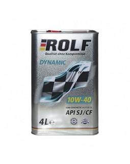 Масло моторное ROLF Dynamic 10W40 полусинтетическое 4л