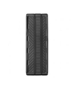 Коврик-ванночка для заднего ряда длинный 127*45 1 предмет Autoprofi Groove черный (TER-150l BK)