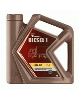 Масло моторное Rosneft Diesel 1 15W40 минеральное 4л