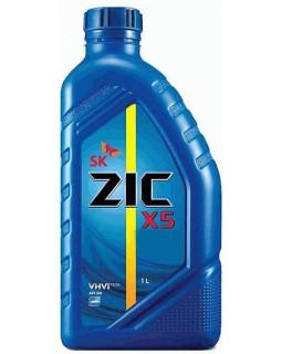 Масло моторное ZIC X5 SAE 10W40 (п/синт бенз) 1л