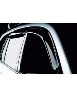 Дефлекторы на боковые стекла Hyundai Solaris 2017- (к-т 4шт) NLD.SHYSOL1732