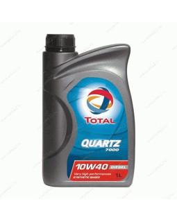 Масло моторное Total Quartz Diesel 7000 10W40 полусинтетическое 1л
