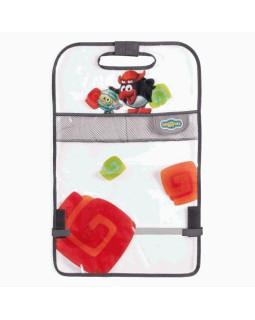 Накидка на спинку сиденья SM/KMT010 Pin (мягкий прозрачный ПВХ) для защиты от ног ребенка