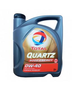 Масло моторное Total Quartz 9000 Energy 0W40 синт. 5л