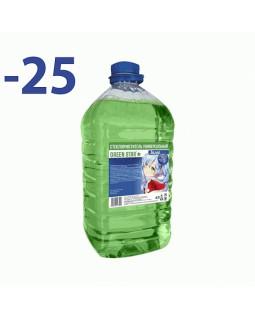 Незамерзающая жидкость Green Star -25C 4л