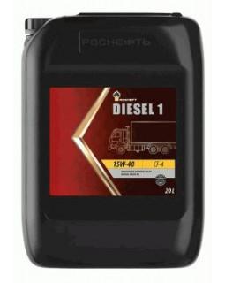 Масло моторное Rosneft Diesel 1 15W40 минеральное 20л