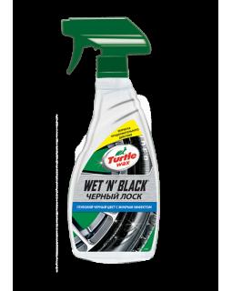 Уход за шинами Turtle Wax WET N BLACK «Черный лоск» 500мл