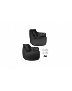 Брызговики черные модель FORD EcoSport 2014+ задние (к-т 2 шт) Novline NLF.16.59.E13