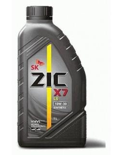 Масло моторное ZIC X7 LS SAE 10W30 синт 1л