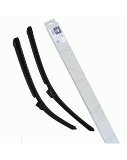 Бескаркасная щетка со встроенными форсунками GS Universal 23/25 575мм/625мм 2 шт