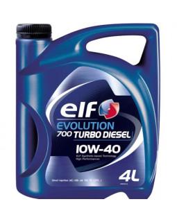 Масло моторное Elf Evolution 700 10W40 Turbo D полусинтетическое 4л
