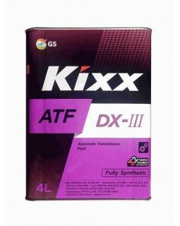 Масло трансмиссионное Kixx ATF DX-IIIi 4л