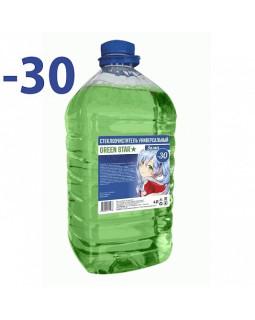 Незамерзающая жидкость Green Star -30C 4л