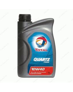 Масло моторное Total Quartz 7000 10W40 полусинтетическое 1л