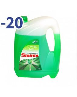 Незамерзающая жидкость Sibiria -20С 4л