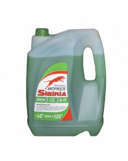Антифриз SIBIRIA -40 (зеленый) 10кг