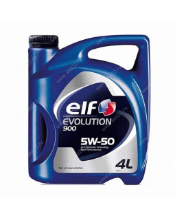 Масло моторное Elf Evolution 900 5W50 синтетическое 4л