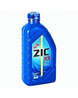 Масло моторное ZIC X5 SAE 5W30 (п/синт бенз) 1л