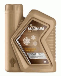 Масло моторное Rosneft Magnum Coldtec 5W40 синтетическое 1л