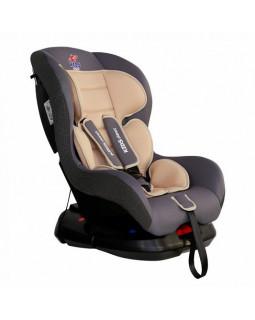 "Детское кресло Kids Planet (0-18 кг/0-4 лет) ""Asteroid"" бежевый латте группа 0+/1 KRES2557"