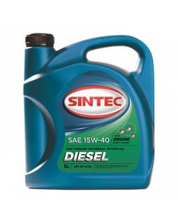 Масло моторное SINTEC Diesel CF-4 15w40 CF-4/CF/SJ 5л