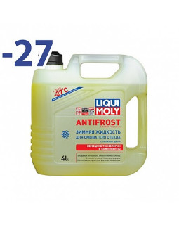 Незамерзающая жидкость LiquiMoly Antifrost -27С 4л