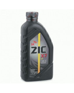 Масло моторное ZIC X7 LS SAE 10W40 синт 1л