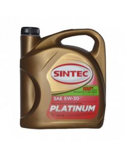 Масло моторное SINTEC PLATINUM 5W30 синтетическое 4л