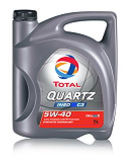 Масло моторное Total Quartz Ineo C3 5W40 синтетическое 5л