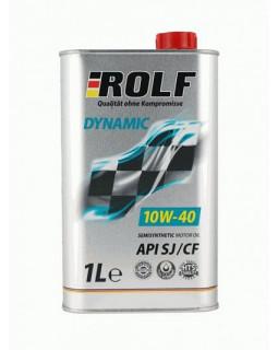 Масло моторное ROLF Dynamic Diesel (ROLF KRAFTON P5 U) 10W40 полусинтетическое 1л