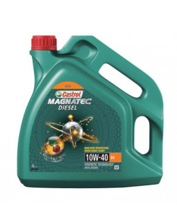 Масло моторное CASTROL Magnatec Diesel DUALOCK 10W40 п/с 4л