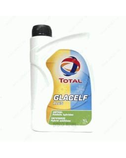 Антифриз Total Glacelf Plus (концентрат) сине-зеленый 1л