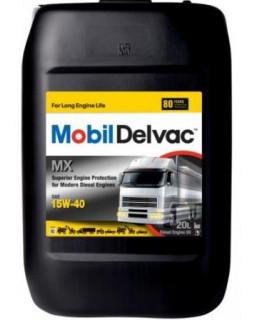 Масло моторное MOBIL Delvac MX 15W40 минеральное 20л