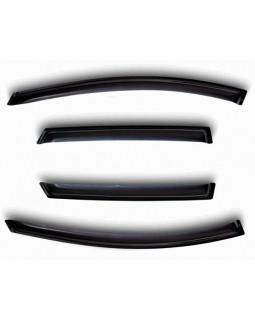 Дефлекторы на боковые стекла TOYOTA COROLLA 2013- Sedan, (к-т 4 шт) NLD.STOCOR1332