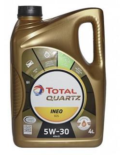 Масло моторное Total Quartz Ineo ECS 5W30 синтетическое 4л