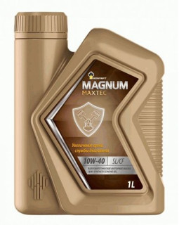 Масло моторное Rosneft Magnum Maxtec 10W40 полусинтетическое 1л