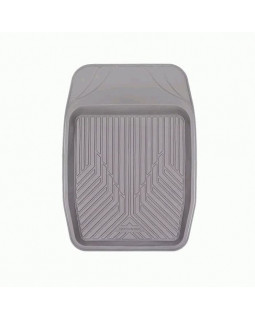 Коврик-ванночка для переднего ряда 48*69 1 предмет Autoprofi Groove серый (TER-150f GY)