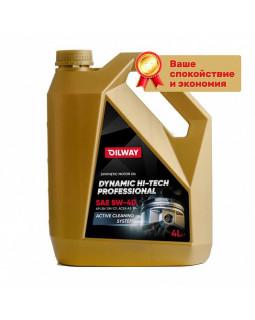 Масло моторное Oilway Dynamic Hi Tech Professional 5W40 синтетическое 4л