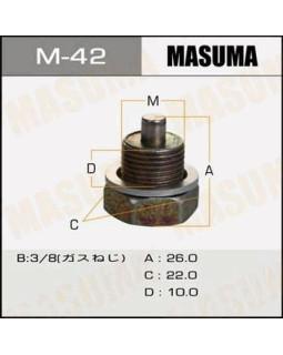 """Болт маслосливной Nissan """"Masuma"""" Ms.б_42"""
